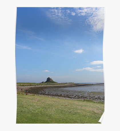 Lindisfarne Castle, Northumberland Poster