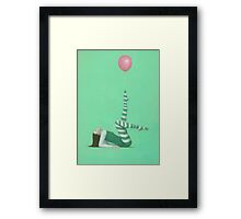 The Pink Balloon I Framed Print