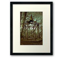 Bandstand Abandon Framed Print