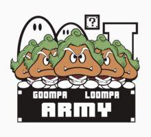 Goompa Loompa Army Kids Clothes