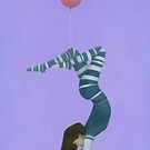 The Pink Balloon II by Stephen Mitchell