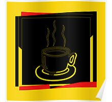 Coffee Cup - I love coffee (Tea) Poster