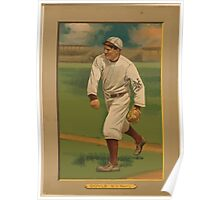 Benjamin K Edwards Collection Larry Doyle New York Giants baseball card portrait Poster