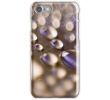 Aluminium drops iPhone Case/Skin