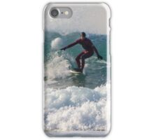 Surfing Cornwall iPhone Case/Skin