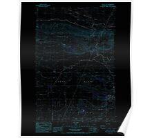 USGS Topo Map Washington State WA Royal City 243529 1986 24000 Inverted Poster