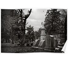 Oakland Cemetery Poster