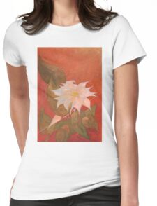 Flowers 10 Womens Fitted T-Shirt