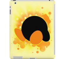 Super Smash Bros. Yellow Kirby Silhouette iPad Case/Skin