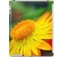 Sunset Beauty - Flower Photography iPad Case/Skin
