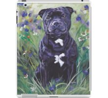 Staffordshire Bull Terrier Fine Art Painting iPad Case/Skin