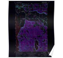 USGS Topo Map Washington State WA Stanwood 243999 1956 24000 Inverted Poster