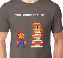 You complete me 8-bit mario Unisex T-Shirt