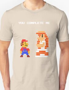 You complete me 8-bit mario T-Shirt