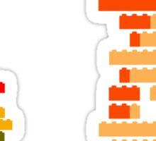 You complete me 8-bit mario Sticker