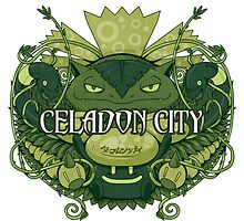Celadon City by TreyBarks