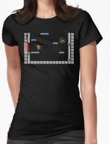 Metroid Man Womens Fitted T-Shirt