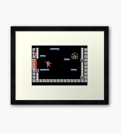 Metroid Man Framed Print