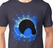 Super Smash Bros. Blue Kirby Silhouette Unisex T-Shirt