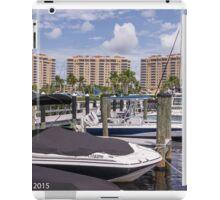 Tarpon Point Marina  iPad Case/Skin