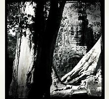Cambodian Ruins by George Dambassis