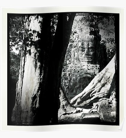 Cambodian Ruins Poster