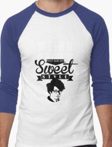 I like Being Weird  Men's Baseball ¾ T-Shirt