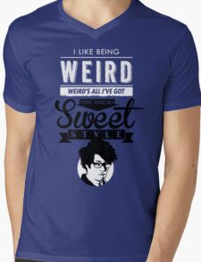 I like Being Weird  Mens V-Neck T-Shirt