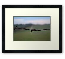 Keeping the world out Framed Print