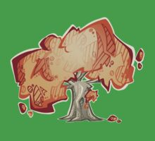 Random tree Baby Tee
