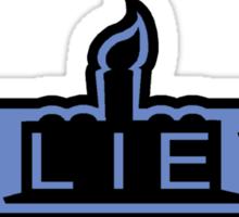 beLIEve blue STICKER Sticker