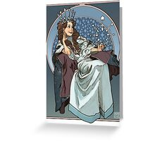 Queen of the Stars Greeting Card