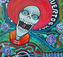 Dia De Los Muertos (Day Of The Dead Art ) by Laura Barbosa