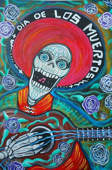 Dia De Los Muertos (Day Of The Dead Art ) by Laura Barbosa