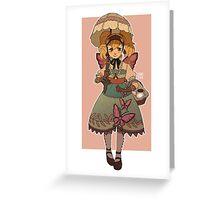 Princess of Bugs Greeting Card