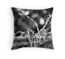 The way is shut Throw Pillow