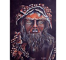 Bacchus - God of Wine Photographic Print