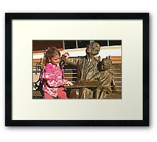 Read Along Framed Print