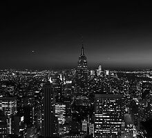 Manhattan at Night v2 by JMChown