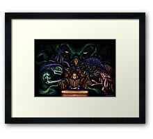 Mythos ABC Framed Print
