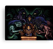 Mythos ABC Canvas Print