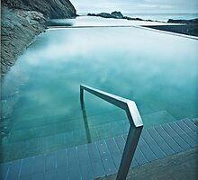 Blue Pool by David Haworth