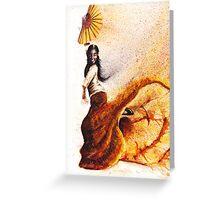 Bailaora de flamenco - Morena Greeting Card