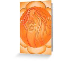 2nd Chakra - Sacral Chakra Greeting Card