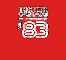 Toxteth O'Grady, official record attempt 1983 Unisex T-Shirt