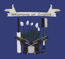 Weapons Of Choice (Pegg,Frost,Wright) by Becky Hayes