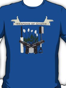 Weapons Of Choice (Pegg,Frost,Wright) T-Shirt