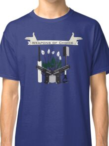 Weapons Of Choice (Pegg,Frost,Wright) Classic T-Shirt