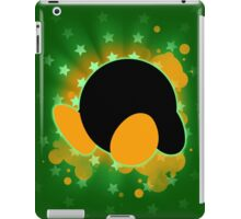 Super Smash Bros. Green Kirby Silhouette iPad Case/Skin