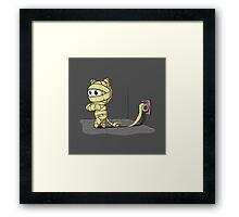 Mummy Cat Framed Print